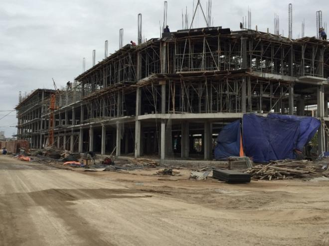 Các công trình được xây dựng nhanh chóng mang đến sức sống mới cho khu đô thị