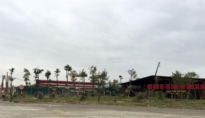 Dự án nằm đối diện Khu đất đã được quy hoạch xây dựng công viên Lotte 100ha