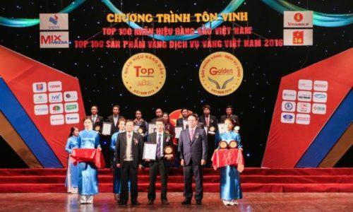 Hải Phát INVEST: Vinh dự nhận giải thưởng TOP 20 nhãn hiệu hàng đầu Việt Nam