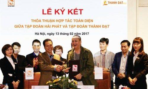 Hải Phát Group và Thành Đạt Group ký kết hợp tác toàn diện