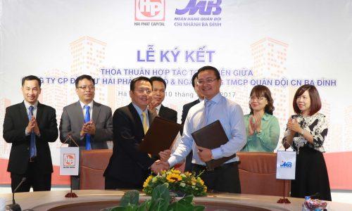HPC LANDMARK 105: Hải Phát Thủ Đô hợp tác toàn diện với MB Ba Đình